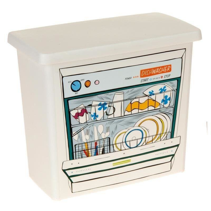 ORION Container for pills capsules for dishwasher powder