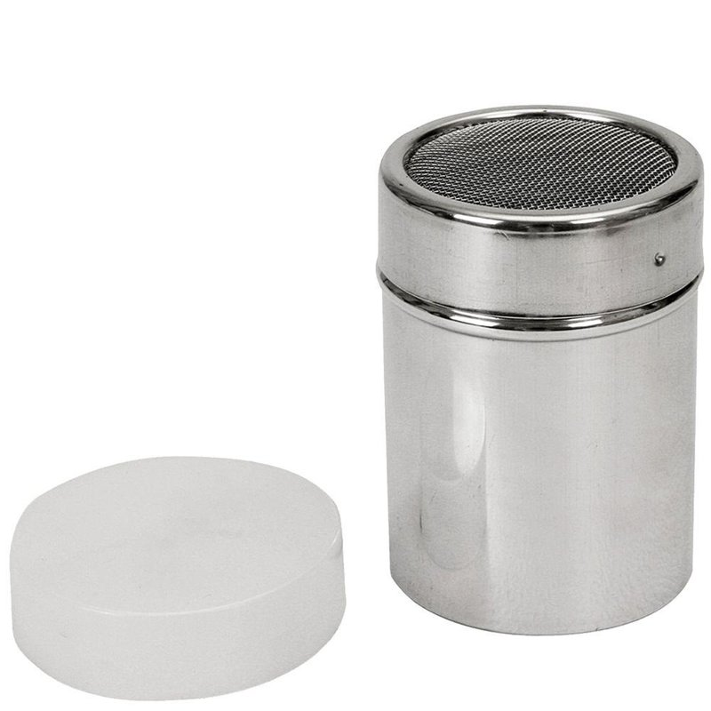 ORION Container with sieve for coffee cinnamon icing sugar