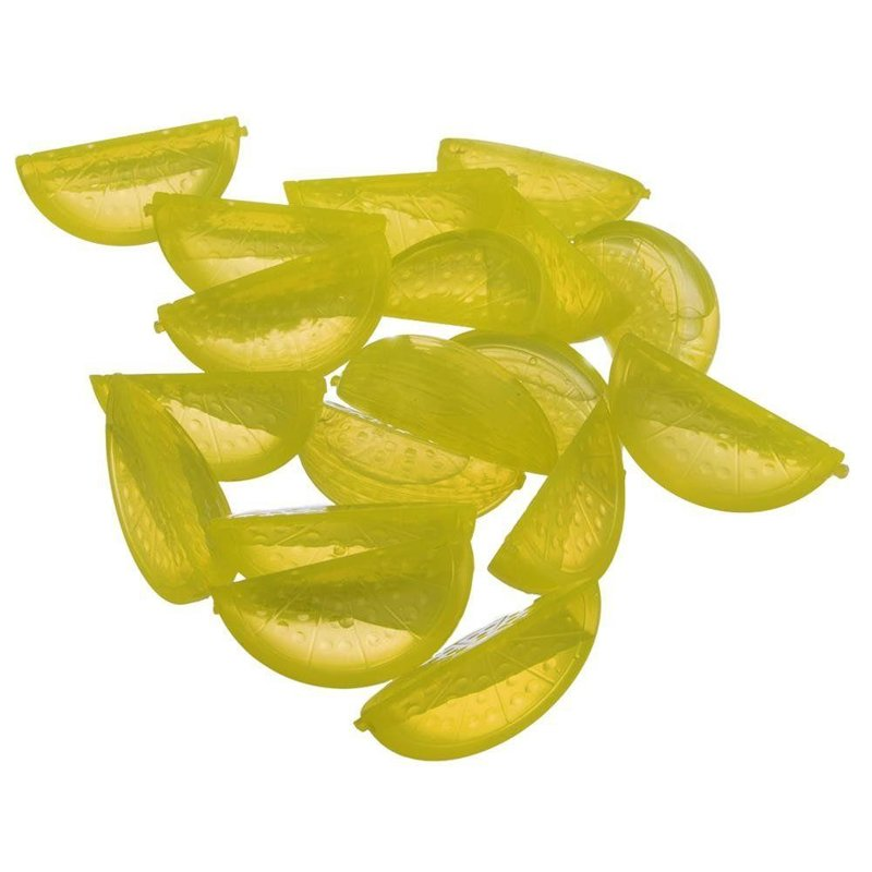 ORION Ice cubes / mold for ice, for ice 20 pcs LEMONS