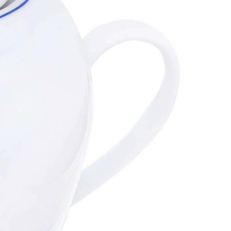 ORION Porcelain jug with handle BLUE LINE 1,2L