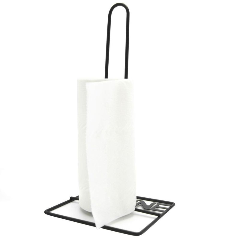 ORION Stand for kitchen towels METAL BLACK handle for kitchen towels