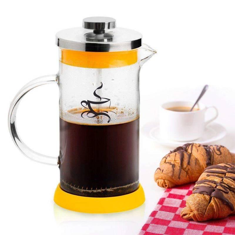 Kaffeebereiter Teebereiter aus Glas 0,8l