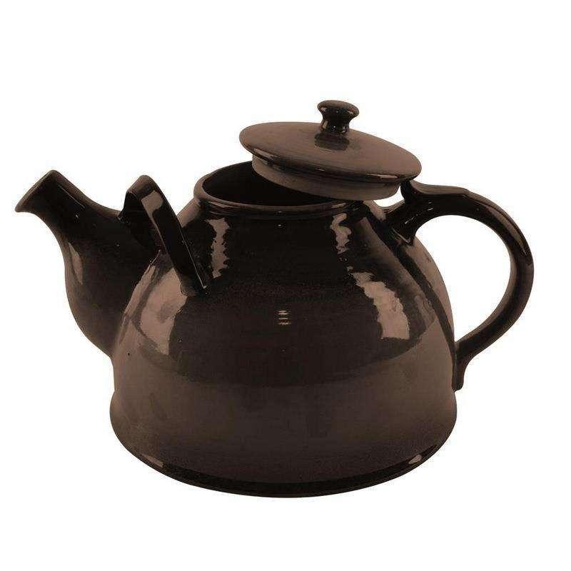 ORION Keramikkanne Teekanne 2,4l WIRTSHAUS in Braun